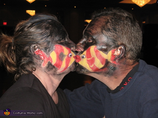 Kissing Fish, Kissing Fish Costume