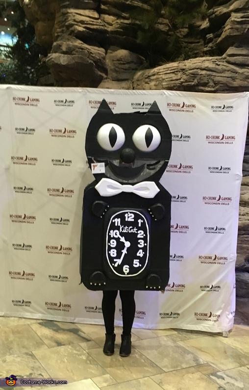 Kit-Cat Clock Costume