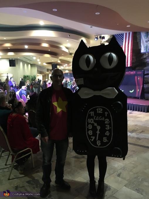 Kit-Cat Clock Homemade Costume