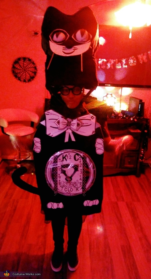Kit Cat Clock Costume
