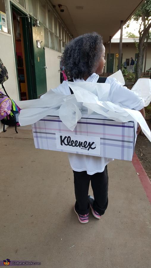 Kleenex Homemade Costume