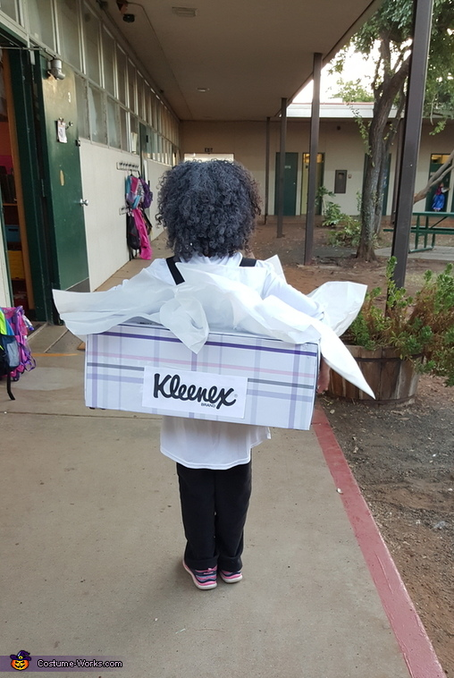 Kleenex Homemade Costume