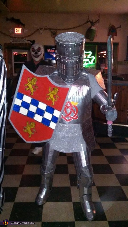 having some fun that night, Knight in Shining Armor Costume