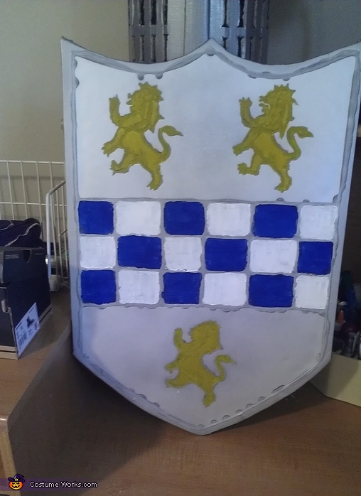 beginning of shield, Knight in Shining Armor Costume