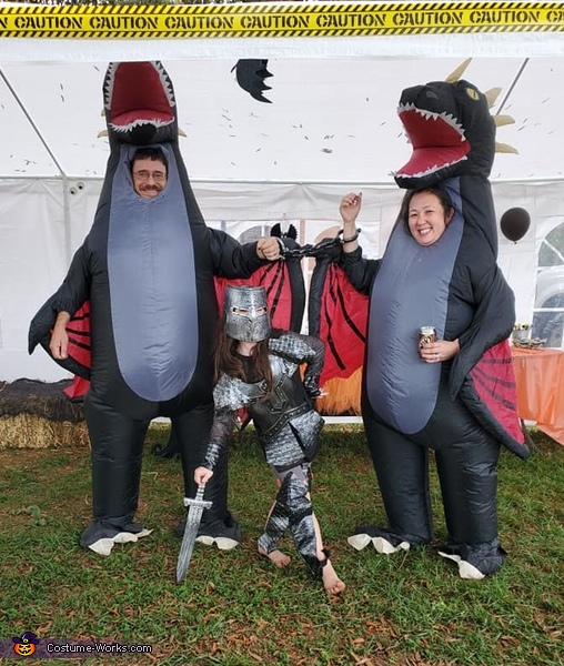 Knight & Dragons Costume