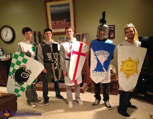 Knights of the Round Table Group Costume