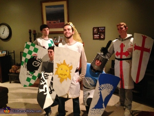 Knights of the Round Table Homemade Costume