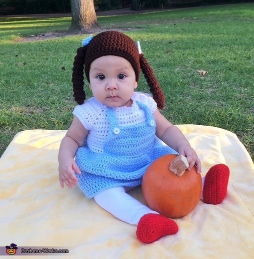 Knitted Dorothy Costume