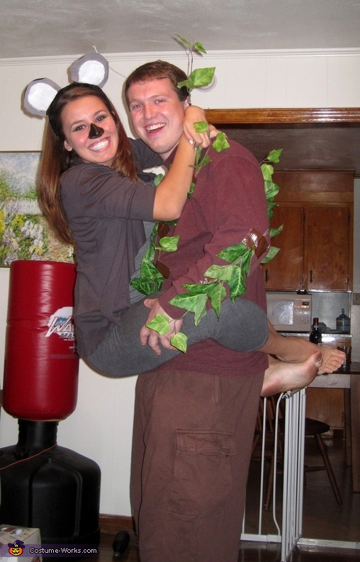 Koala and Tree Costume
