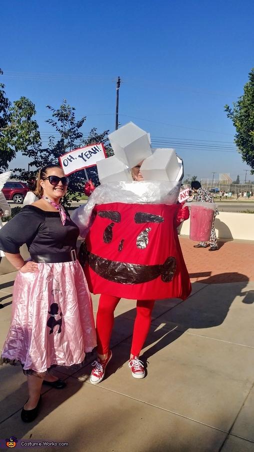 Kool-Aid Man Homemade Costume