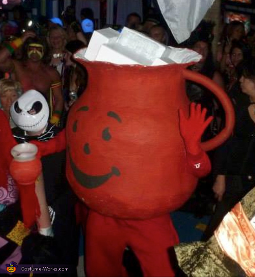 Party time.. Oh Yeahh!!!, Kool Aid Man Costume
