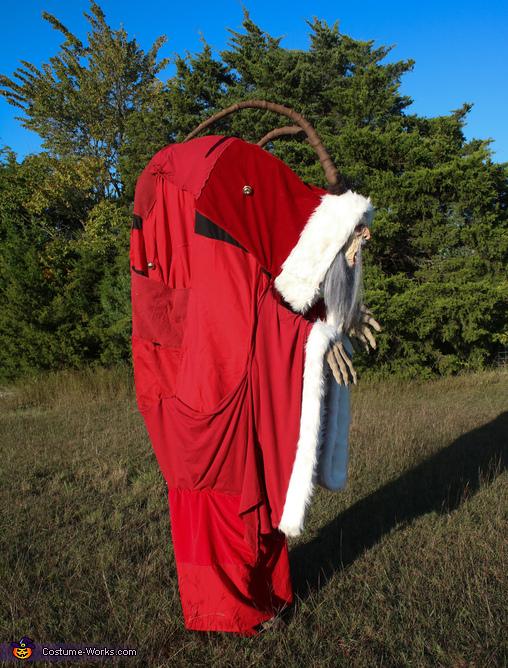 Krampus Homemade Costume