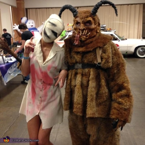 Cool chick I meet, Krampus Costume