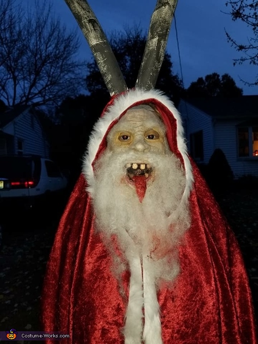 Krampus Homemade Costume