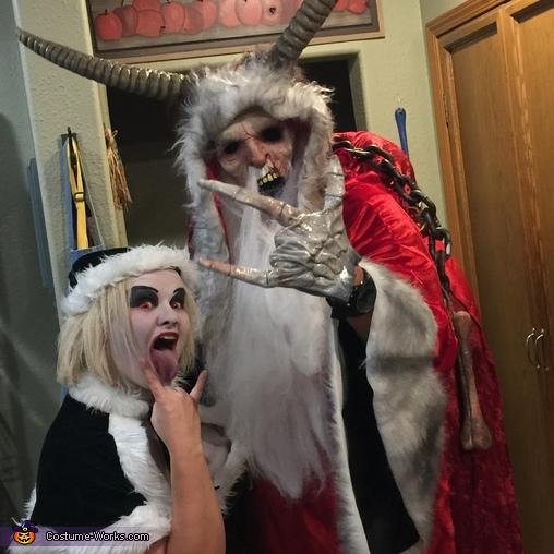 Krampus and Evil Elf Costume