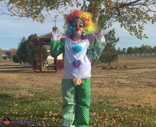 Krazy Klown Homemade Costume