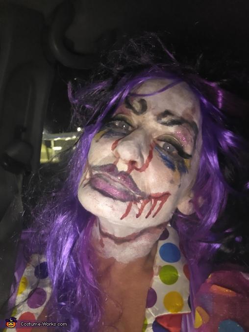 Kreepy Klown Homemade Costume