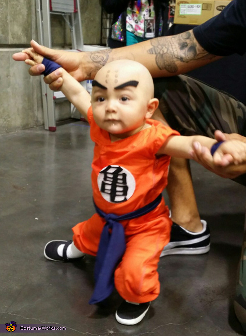 Krillin Costume  sc 1 st  Costume Works : baby muscle costume  - Germanpascual.Com