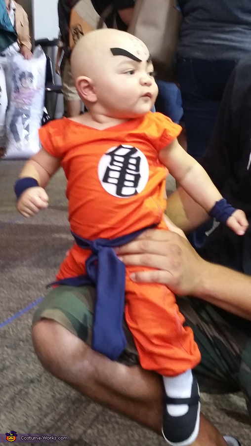 Dragon Ball Krillin Baby Costume