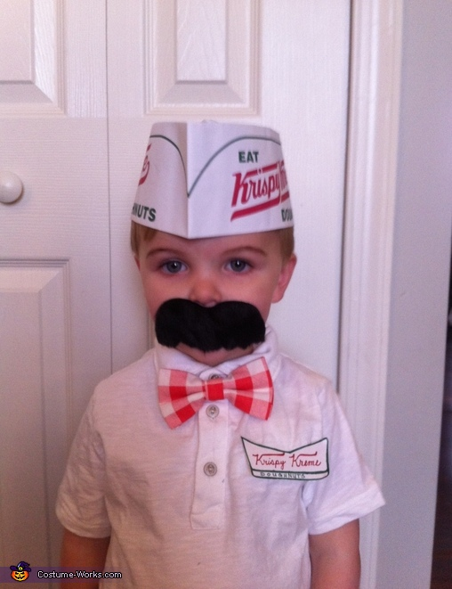 Krispy Kreme Donut Man and his Sweet Treat Costume
