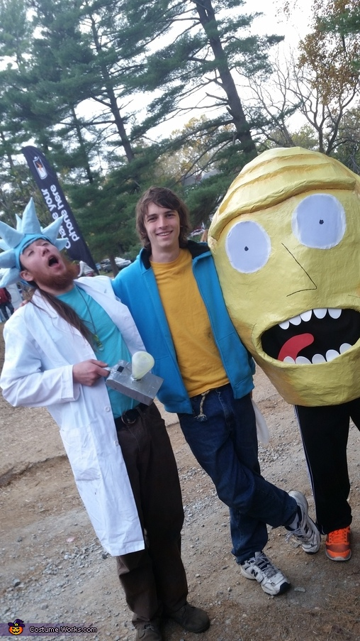 Kromulon Head from Rick & Morty Homemade Costume