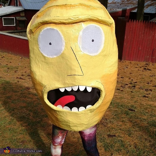 Kromulon Head from Rick & Morty Costume