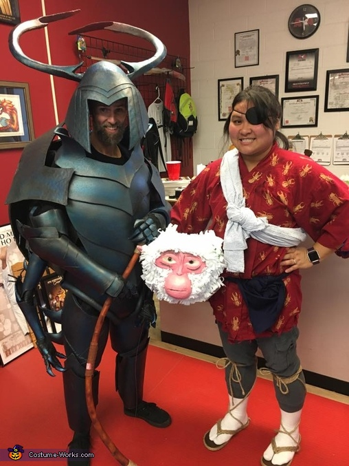 Kubo and Beetle Costume