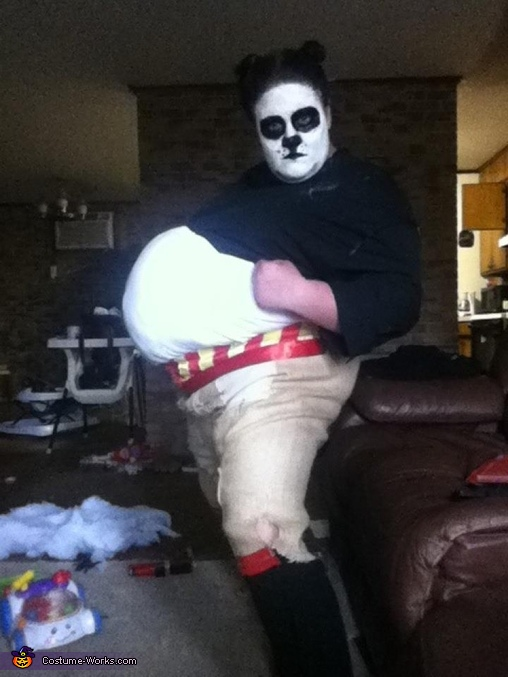 Kung Fu Panda Homemade Costume