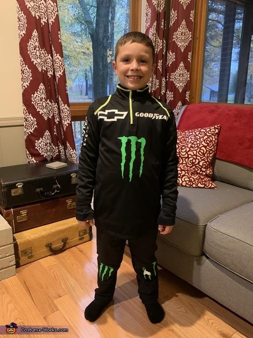 Kurt Busch the Race Car Driver Costume