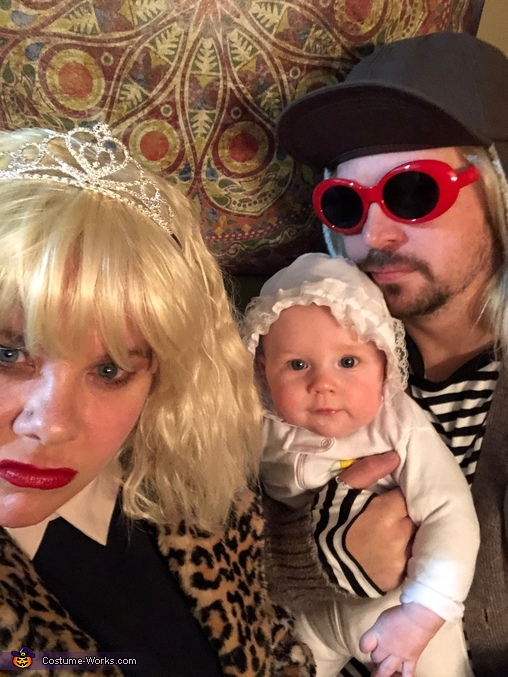 Kurt Cobain and Courtney Love Homemade Costume