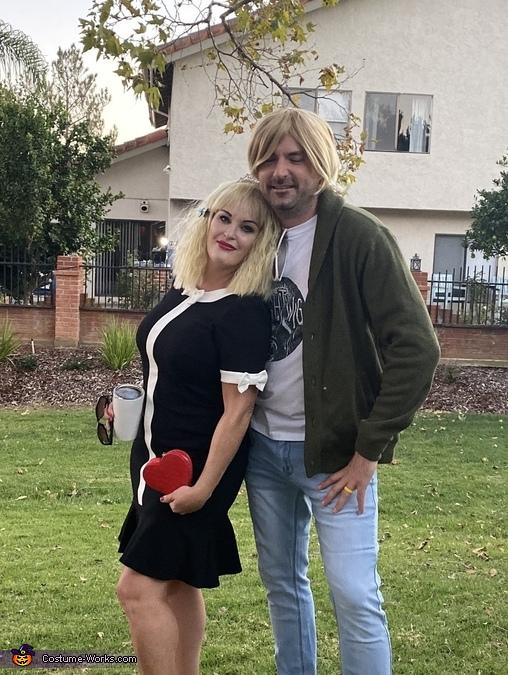 Kurt Cobain and Courtney Love Homemade Costume
