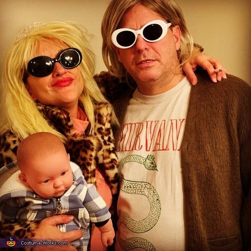 Kurt Cobain & Courtney Love Costume