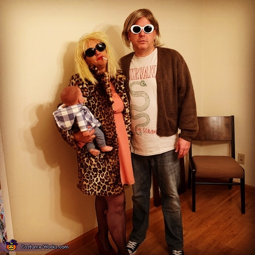 I'm the girl with the most cake, Kurt Cobain & Courtney Love Costume