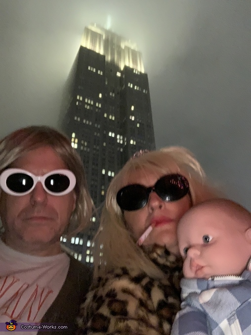Grunge Family Portrait, Kurt Cobain & Courtney Love Costume