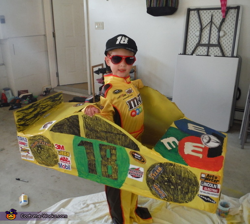Kyle Busch Junior Costume