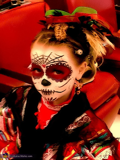 La Catrina - Homemade costumes for girls