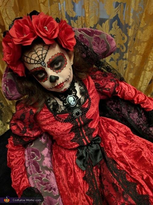 La Muerte Homemade Costume