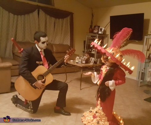 La Muerte and Manolo Book of Life, Book of Life La Muerte and Manolo Costume
