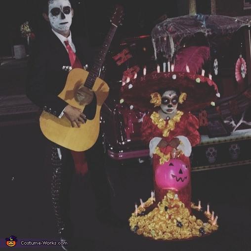 La Muerte and Manolo Homemade Costume