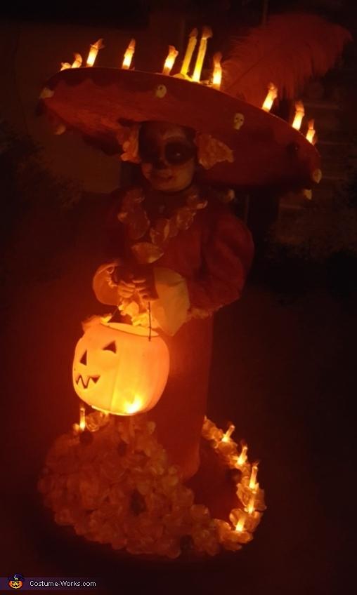 light up in the dark, La Muerte Book of Life Costume