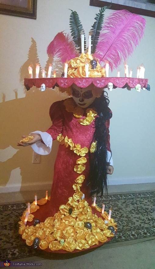 La Muerte Book of Life Homemade Costume