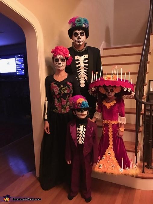La Muerte Day of the Dead Homemade Costume