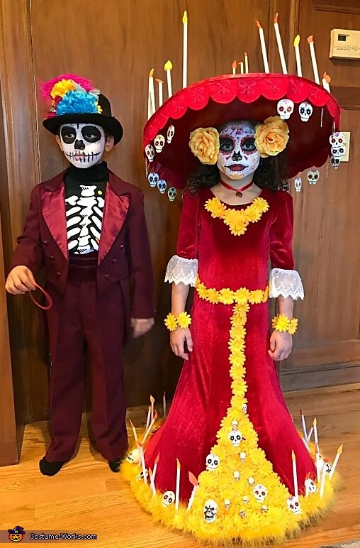 La Muerte Day of the Dead Homemade Costume