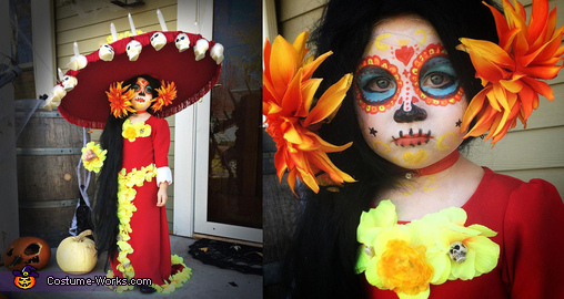 La Muerte from Book of Life, La Muerte from Book of Life Costume