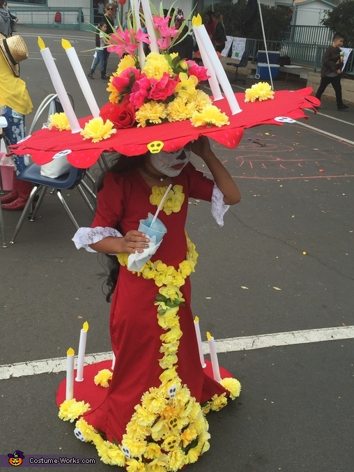"""La Muerte from """"The Book of Life"""" Costume"""