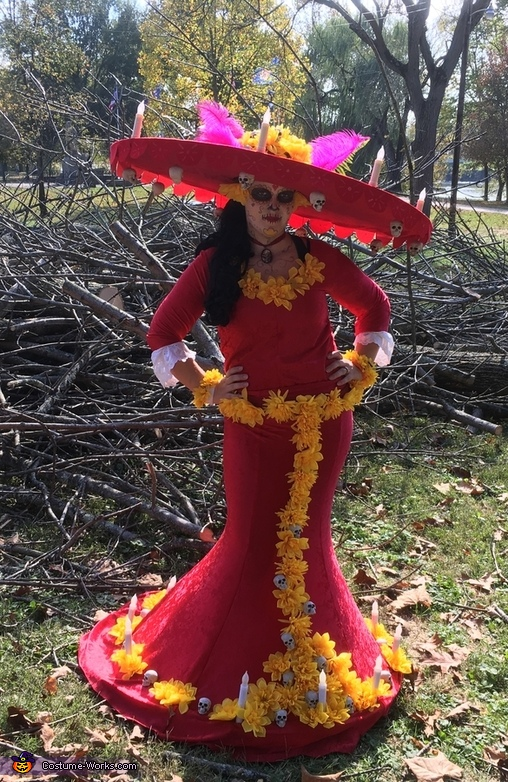 "La Muerte from ""The Book of Life"" Costume"