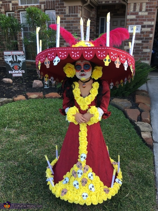 La Muerte from The Book of Life Costume DIY