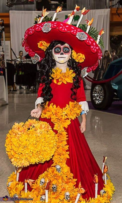 La Muerte The Book of Life Homemade Costume