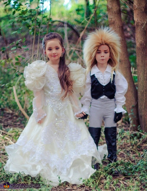 Labyrinth Jareth and Sarah Homemade Costume