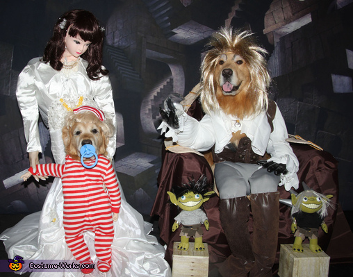 Labyrinth: Jareth the Goblin King and Baby Toby Costume
